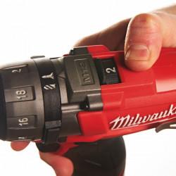 Milwaukee M12 CD-0 2-toerige compact-schroevendraaier