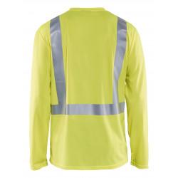 UV-T-shirt lange mouw High Vis