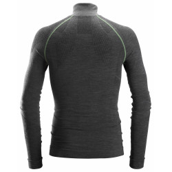 FlexiWork Seamless Wollen Shirt met lange mouwen