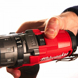 Milwaukee M12 CPD-402C 2-toerige compact-slagboormachine