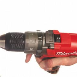 Milwaukee M12 CDD-402C 2-toerige compact-boorschroefmachine