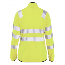 Dames Softshell jack High Vis