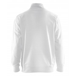 Sweatshirt Bi-Colour met halve rits