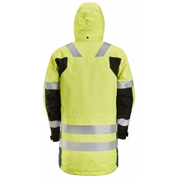 AllroundWork, High-Vis Waterproof Parka, KL 3