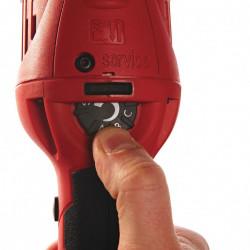 Milwaukee AP 12 E1200 Watt Polijstmachine met elektronische toerentalregeling