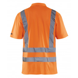 Piqué Polo High Vis klasse 3