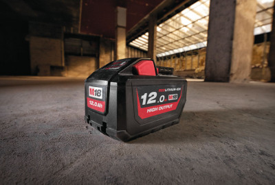 Milwaukee  M18 ™ REDLITHIUM ™ HIGH OUTPUT ™ HD12.0 batterijpakket