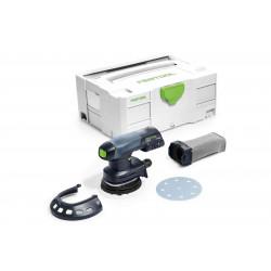 Festool accu-excenterschuurmachine ETSC 125 Li – Basic