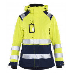 Dames Shell jack High Vis