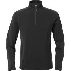 Acode stretch sweatshirt met korte ritssluiting dames 1764 TSP