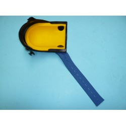 Riem, blauw elastiek, 32 x 4 cm voor Kniebeschermer NIERHAUS en Berdal kniebeschermer.