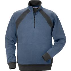 Acode sweatshirt met korte rits 1755 DF