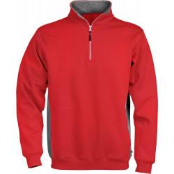 Acode sweatshirt met korte ritssluiting 1705 DF