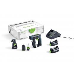 Festool accu-schroefboormachine CXS Li 2.6 – Set