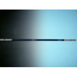 Verlengstuk 100 cm. voor grondboor met gedraaide punt