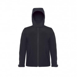 Kids Hooded softshell