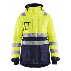 Dames Winterparka High Vis