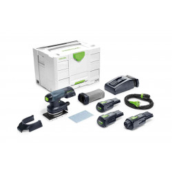 Festool accu-vlakschuurmachine RTSC 400 Li 3.1 – Set
