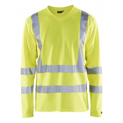 UV-T-shirt High Vis lange mouw UPF 40+ UV