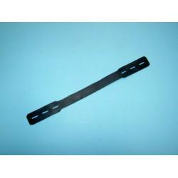 Riem 32 cm, rubber, voor Berdal harmonica kniebeschermer.