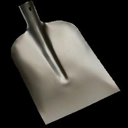 Betonschop 1/2 0 grijs gelakt