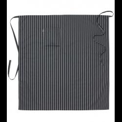 Sloof grijze/zwarte streep