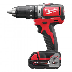 Milwaukee M18 BLPD-202C koolborstelloze compact-slagboormachine
