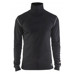 FR Onderhemd Zip-neck