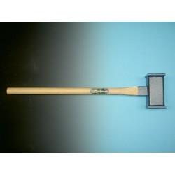 Sleg - paalhamer, STAAL met essen steel 90 cm. (3,6 kg)