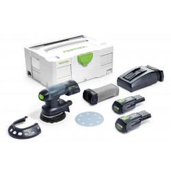 Festool accu-excenterschuurmachine ETSC 125 Li 3.1 – Plus