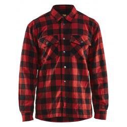Overhemd Flanel. Gevoerd