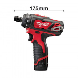 Milwaukee M12 BD-202C subcompact-schroevendraaier