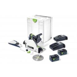 Festool accu-invalcirkelzaag TSC 55 Li 5.2 REB – Plus / XL