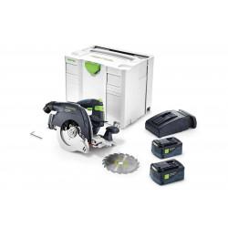 Festool accu-pendelkapzaag HKC 55 Li 5.2 EB – Plus