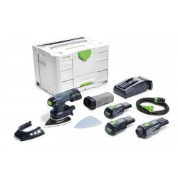 Festool accu-deltaschuurmachine DTSC 400 Li 3.1 – Set