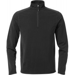 Acode stretch sweatshirt met korte ritssluiting 1763 TSP