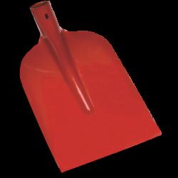 Betonschop 1/2 0, rood gelakt, gehard