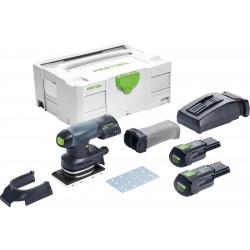 Festool accu-vlakschuurmachine RTSC 400 Li 3.1 – Plus
