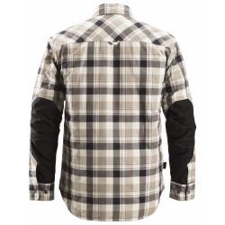 RuffWork, Geruit Gevoerd Flanellen Shirt Lange Mouwen