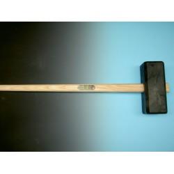 Sleg, KUNSTSTOF tuinhamer met steel 110 cm.
