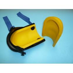 Kussen geel voor Kniebeschermer NIERHAUS harmonica lang, type 13-VE.