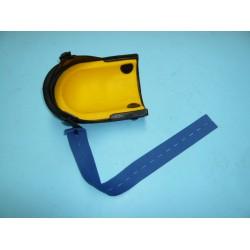 Riem, blauw elastiek, 50 x 4 cm voor Kniebeschermer NIERHAUS harmonica lang, type 13-VE.